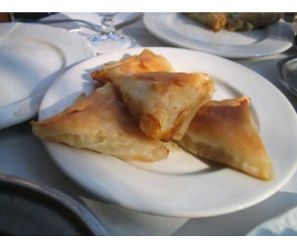 Рецепт                  Хрустящие пирожки с сыром