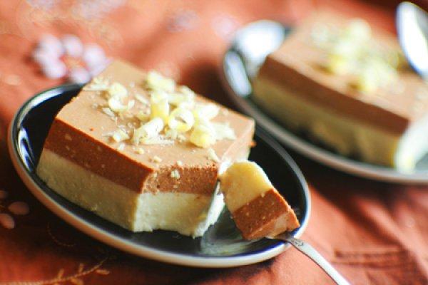 Рецепт                  Ванильно-шоколадный десерт