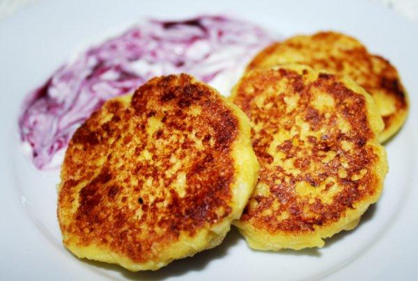 Рецепт                  Сырники из домашнего творога