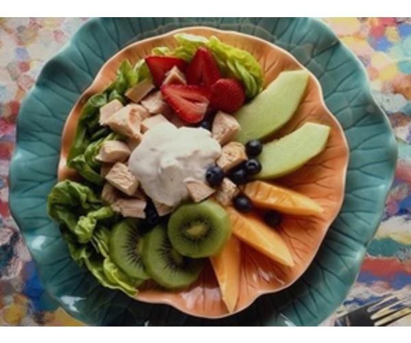 Рецепт                  Мясо с фруктами
