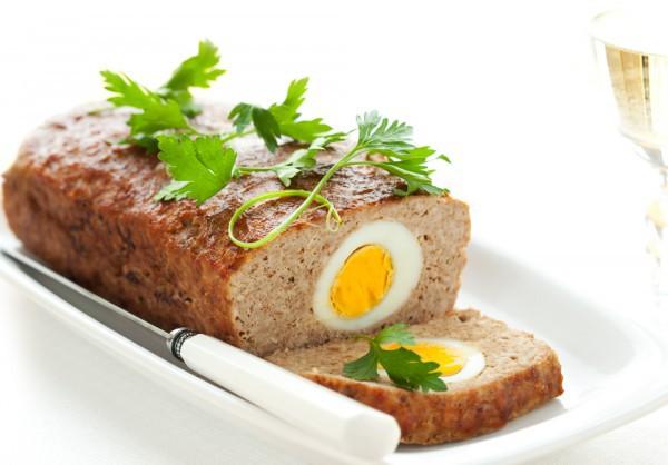 Рецепт                  Пасхальные рецепты: Мясной хлебец Парадный