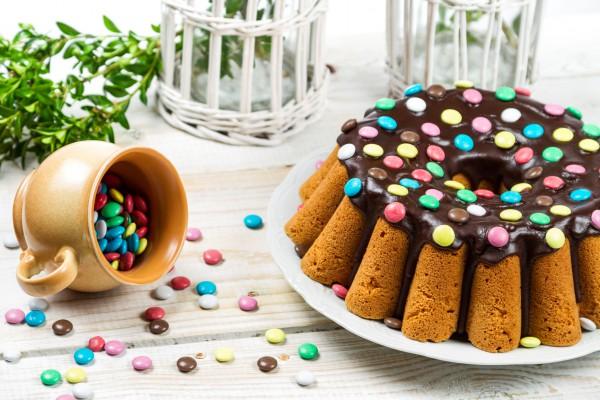 Рецепт                  Пасхальный кекс с шоколадной глазурью
