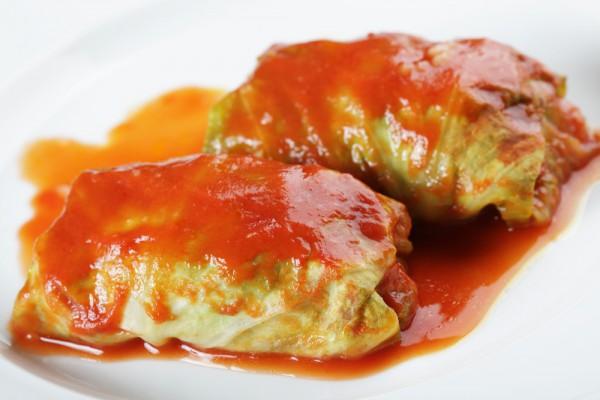 Рецепт                  Новогодние рецепты: Голубцы в томатном соусе