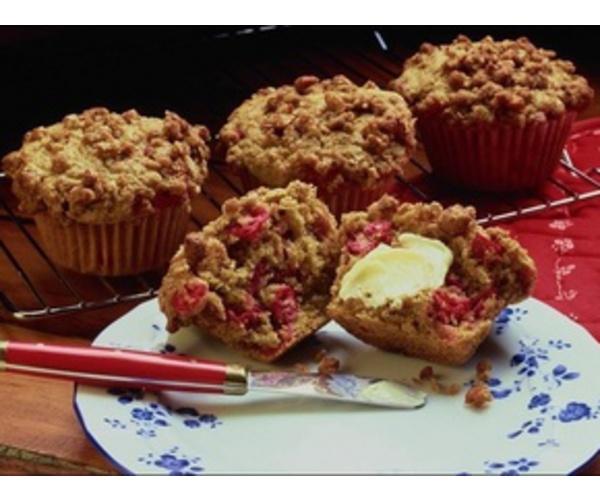 Рецепт                  Кексы с вишнями