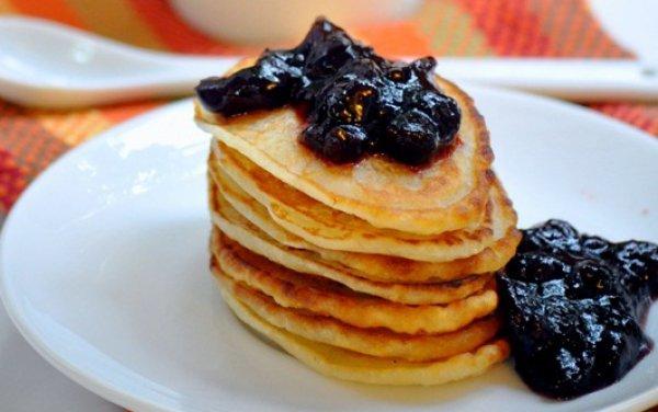Рецепт                  Готовим оладьи с ванилью и корицей на завтрак