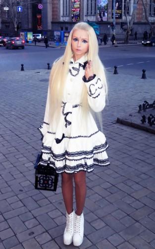 Голая Валерия Лукьянова (Украинская Барби)