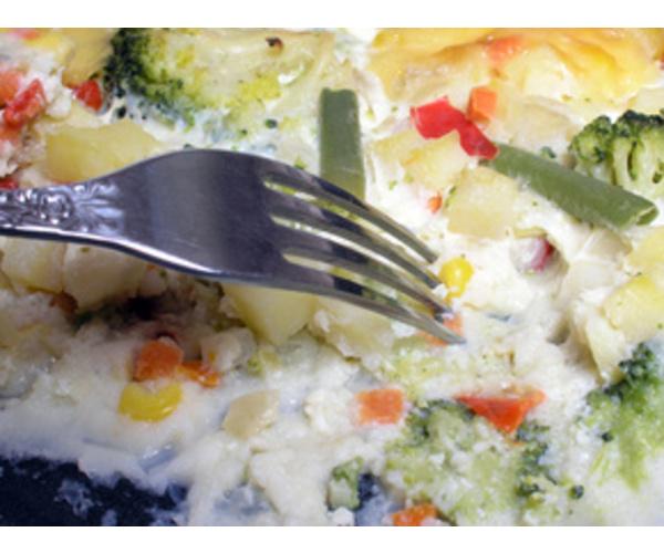 Рецепт                  Овощная запеканка с брокколи