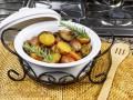 Постное карри с картофелем и грибами