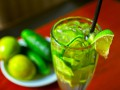 Огуречно-лаймовый лимонад