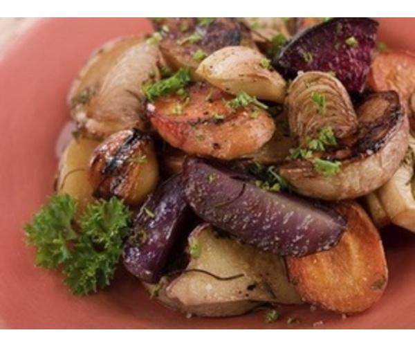 Рецепт                  Ароматные запеченные овощи