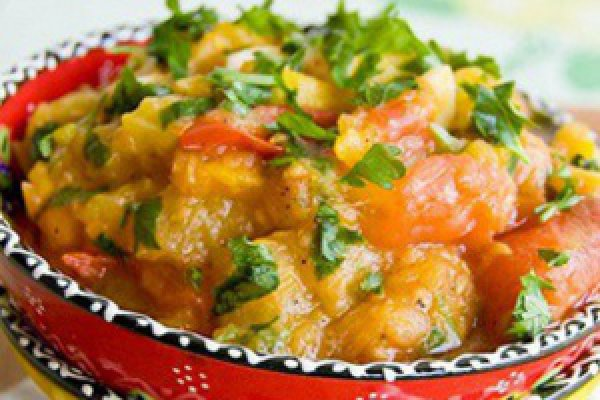 Рецепт                  Пюре из цуккини с помидорами