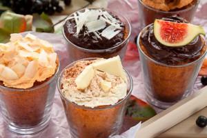 Тыквенные кексы с шоколадом