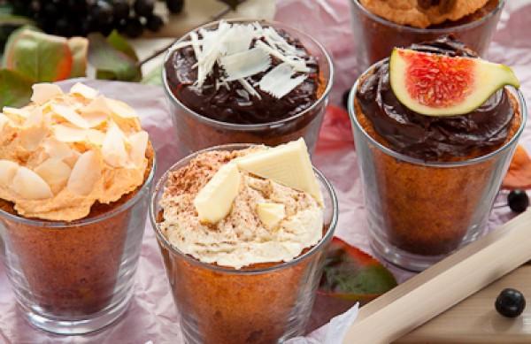 Рецепт                  Тыквенные кексы с шоколадом