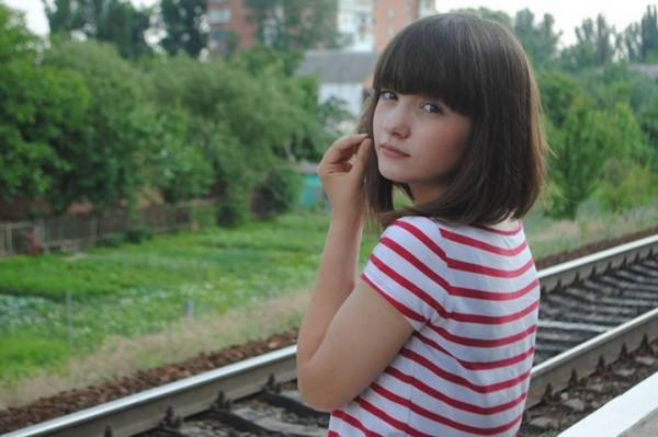 Дочка Константина Оля