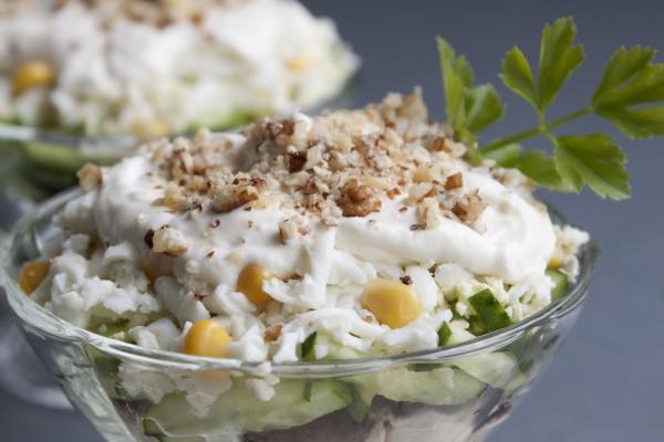 Рецепт                  Новогодний салат из курицы
