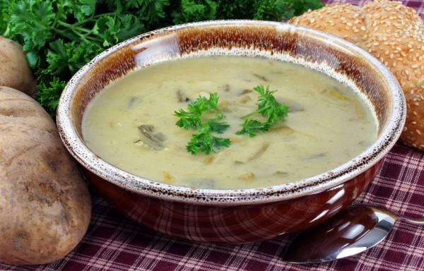 Рецепт                  Великий пост 2015: Картофельно-луковый суп