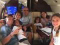 Криштиану Роналду после победы на Евро 2016 уехал с семьей отдыхать