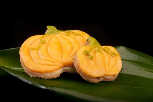 Рецепт                  Тыквенное печенье с ирисками