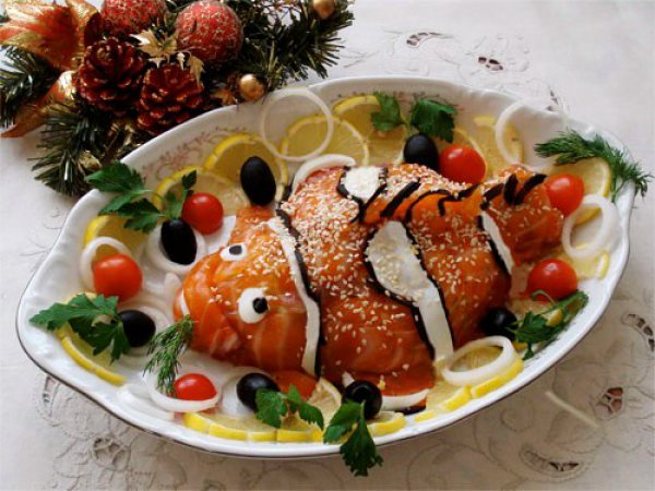Салат из свеклы в ресторане царь петербург