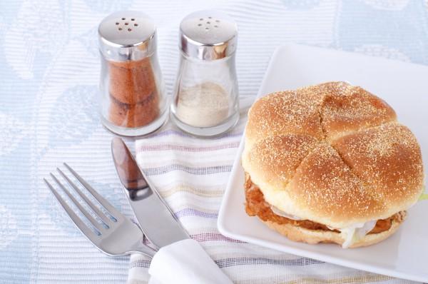 Рецепт                  Рыбный бургер