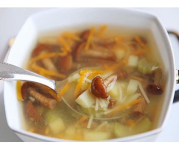 Рецепт                  Суп с опятами