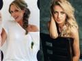 Катя Осадчая и Леся Никитюк вышли в свет в одинаковых платьях