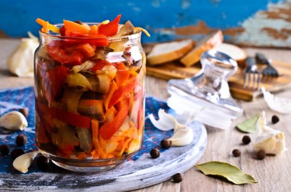 Рецепт                  Маринованные овощи по-итальянски
