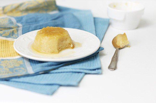 Рецепт                  Яблочный флан с медом