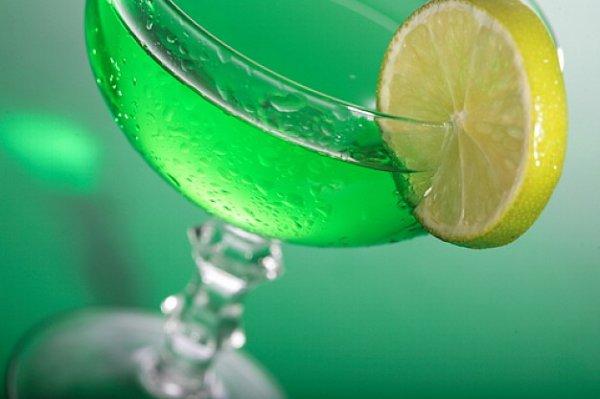 Рецепт                  Зеленый коктейль ко Дню святого Патрика