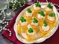 Рецепты на Новый год: Корзинки с селедочным паштетом