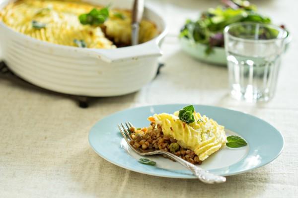 Рецепт                  Великий пост 2015: Пастуший пирог с овощами