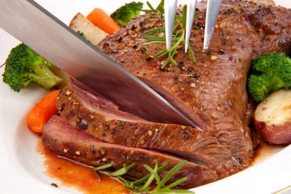 Ростбиф – по-настоящему мужское блюдо к 23 февраля