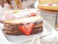 Как приготовить клубничный торт-мороженое