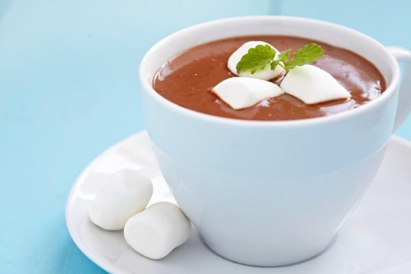 Рецепт                  Горячий шоколад с маршмэллоу