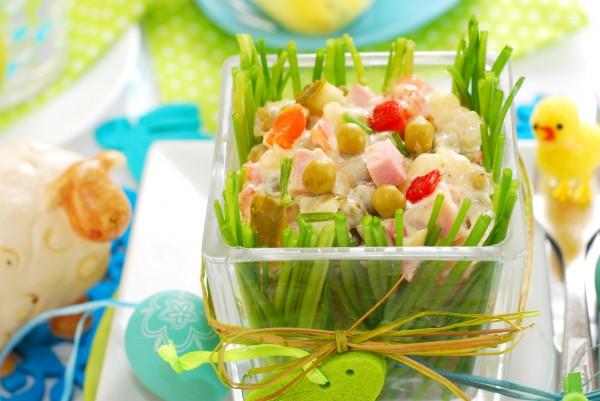 Рецепт                  Пасхальный картофельный салат