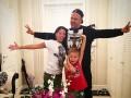 Потап показал фото с женой и шестилетним сыном