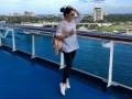 Лилия Подкопаева выложила фото с отдыха на Багамах