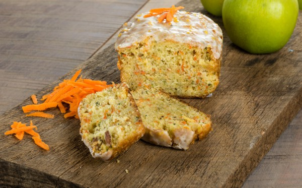 Рецепт                  Яблочно-морковный кекс
