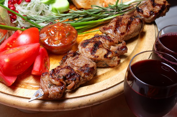 Рецепт                  Шашлык из говядины: Рецепт