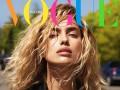 Ирина Шейк примерила образ блондинки в новом фотосете для Vogue