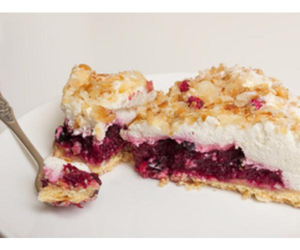 Рецепт                  Вишневый пирог «Наслаждение»