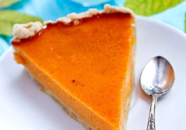 Рецепт                  Тыквенный пирог с молоком и медом