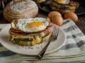Как приготовить французский бутерброд Крок Мадам