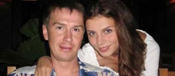 Валентин Белькевич с бывшей женой Анной Седоковой