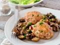 Курица с грибами: ТОП-5 рецептов