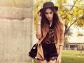 Деликатная женственность: Летние образы с кружевными шортами