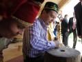 Президент России Дмитрий Медведев станцевал на рок-концерте