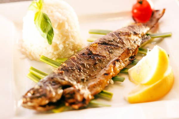 Рецепт                  Пасхальные рецепты: Лещ с овощами и рисом