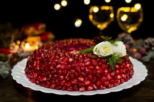 Рецепт                  Салат Гранатовый браслет: Рецепт