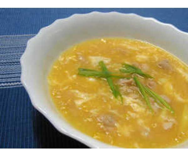 Рецепт                  Куриный суп с кукурузой